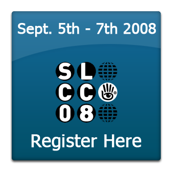 Register for the 2008 Second Life Community Convention